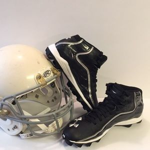 Under Armour Shoes - VGUC! UA Football 🏈